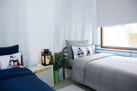 cdk guest room - twin - Гонконг