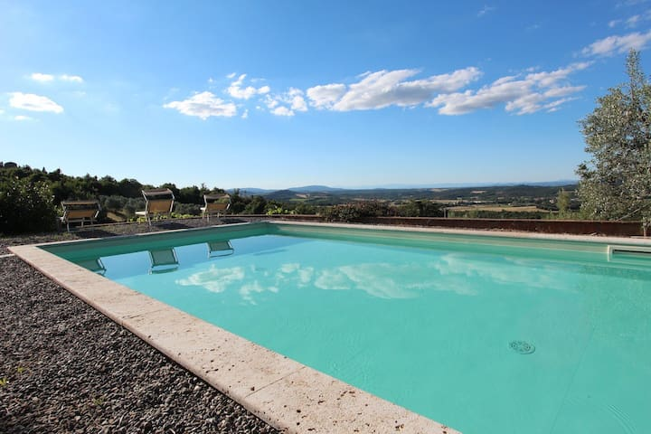 Charming Tuscany Cottage Views/Pool - Casole D'elsa - House
