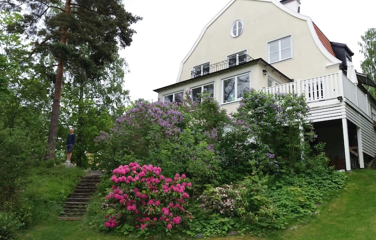 Luxury villa close to Stockholm, water and nature