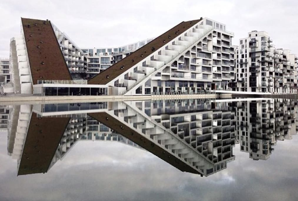 Apartment in awardning winning 8-House: Housing Building of the Year at the 2011 World Architecture Festival