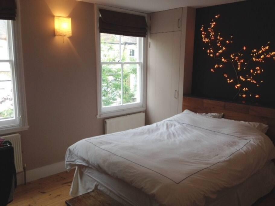 Double bedroom on 1st floor