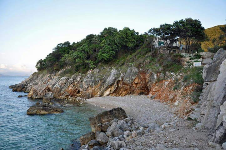 Apartment above the beach Mljet! - Kozarica - Lejlighed