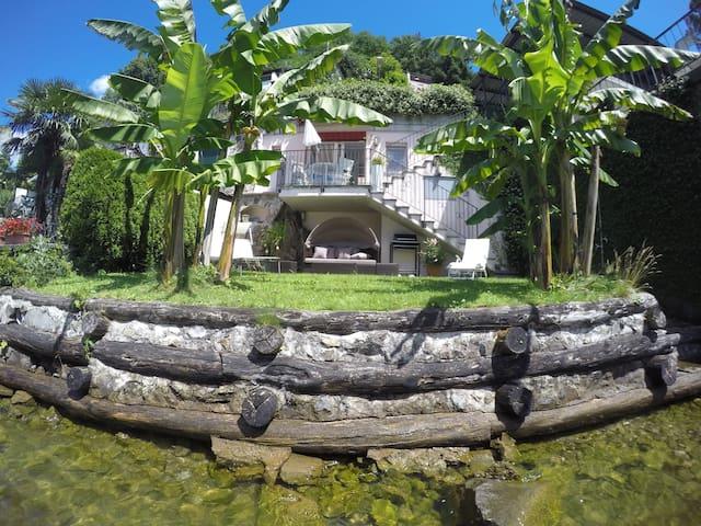 Petit Paradis Lake Lugano - Morcote - House