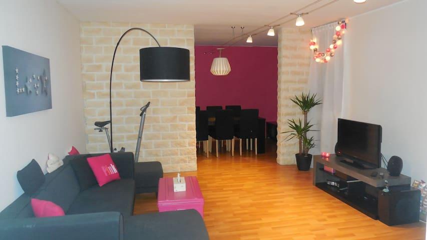 Chambre privative adaptée avec un bébé - Élancourt - Apartemen