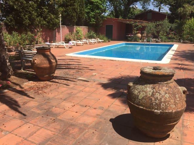 quadrilocale con piscina relax