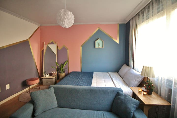 [New]Colorful House_Private Room_Near Hongdae