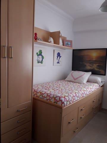 Habitación Valencia dos camas