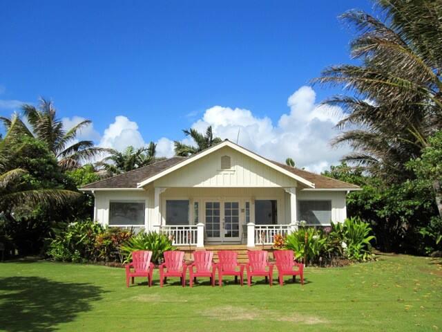 Oceanfront Hawaiian Cottages