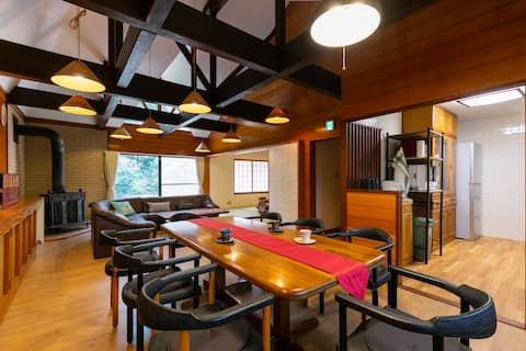 100% Pure Hot Spring Hakone Villa, Easy Access