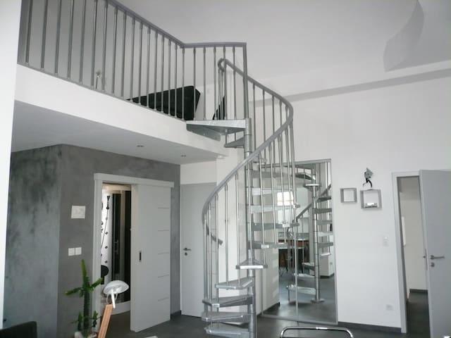 Magnifique duplex  moderne avec chambre mézzanine - Kilstett - Dům