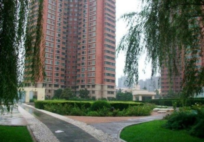 北京房屋-地铁站5分钟-地图定位准确-小区安全舒适-主人可供餐哦 - Peking