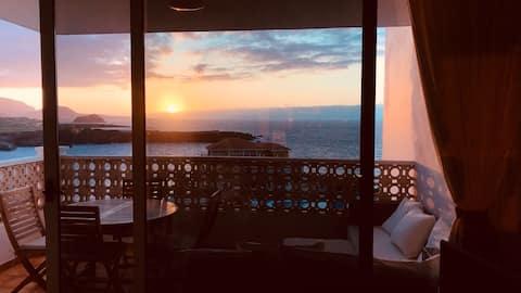 Amplio apartamento cerca del mar