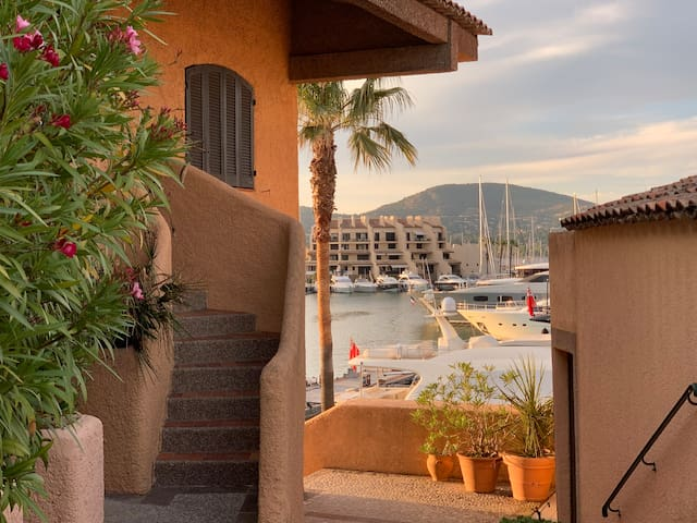 Marina apartment Saint-Tropez