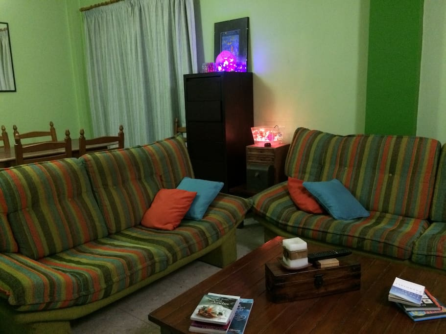 shared living room area