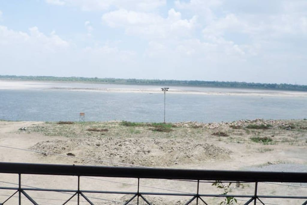 View From Ganga Guest Gouse