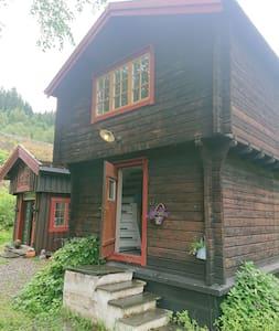 Cozy cottage on horsefarm