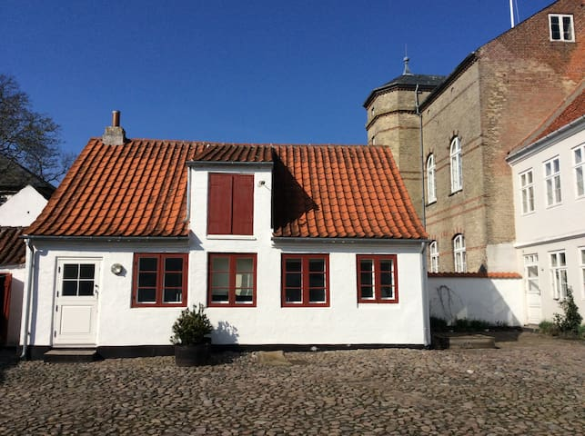 History, comfort, peace and quiet - Ærøskøbing - Casa