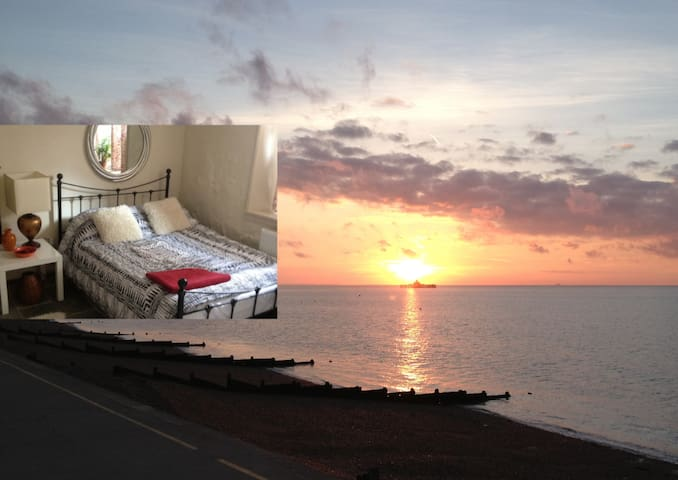 Seaside one bed holiday garden flat - Herne Bay - Lejlighed