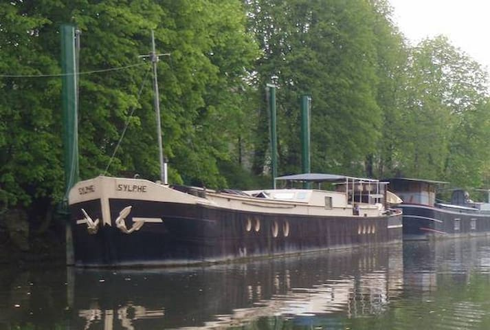 Une péniche sur la Seine ! - Poissy - Barca