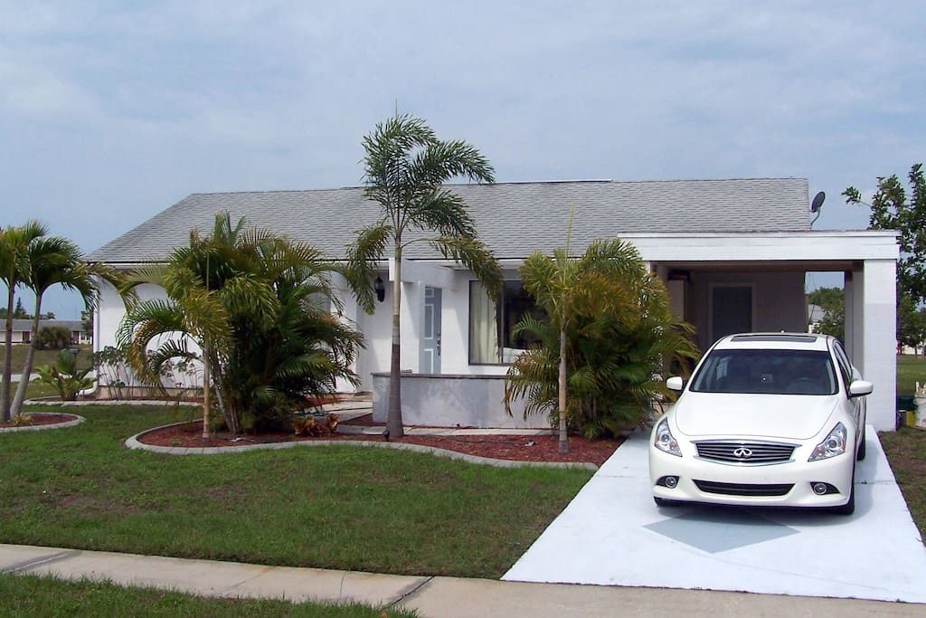 Cute house in port charlotte houses for rent in port - 4 bedroom rental homes in charlotte nc ...