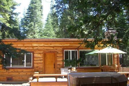 Luxury Tahoe Park Cabin
