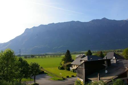 Gite / Home en Savoie - Alpes - Aiton - Apartamento
