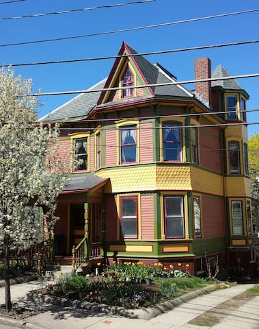 Victorian elegance and breakfast - Somerville - Maison