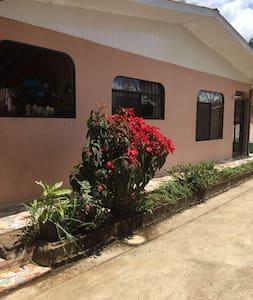 el paraiso tropical con dos habitaciones - San Isidro de El General - House