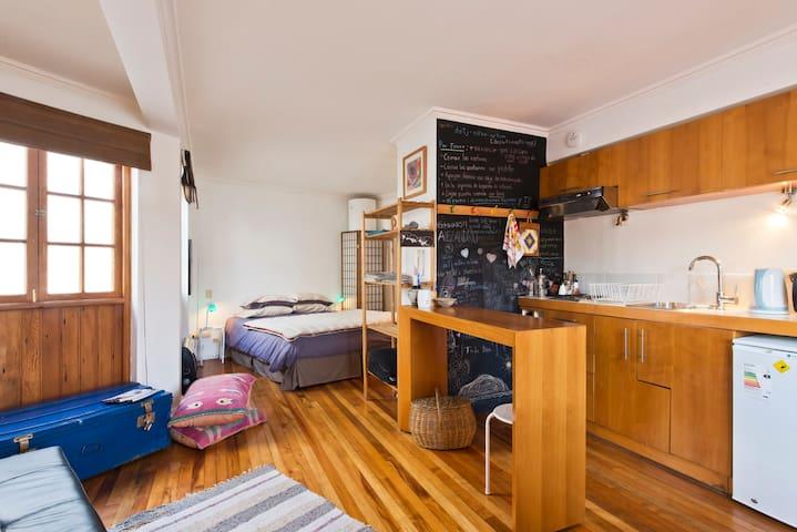 Cozy studio in Cerro Alegre - Valparaiso - Loftlakás
