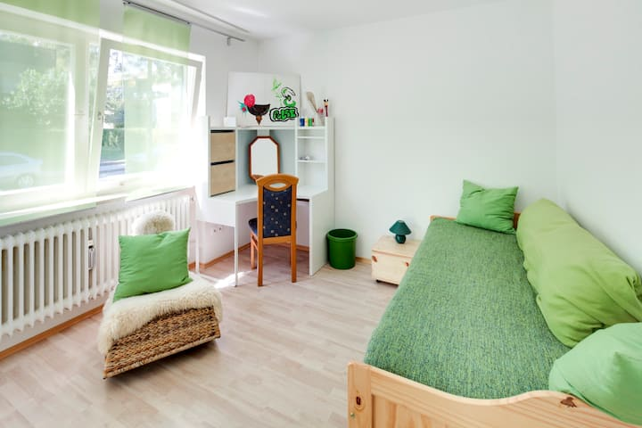 Grünes Ambiente in ruhiger Wohnlage