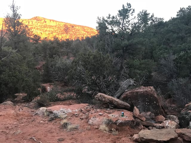 Water Canyon Cliffside - Campsite 1
