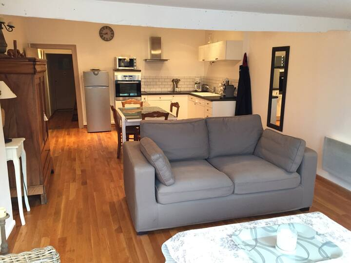 Coquet appartement Vue d exception