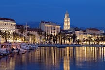 Split old town - 15min by car from the ap