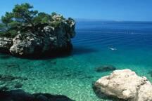 Makarska - 45min by car - we organize  day trips and transfers