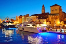 Trogir - UNESCO protected city - 30min by car - we offer day trips