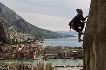 Omiš  ( 30min by car) - we organize your active holiday