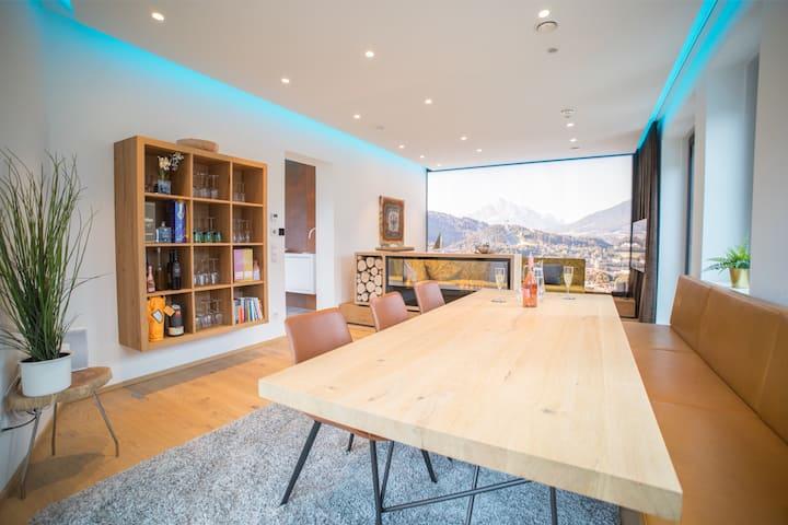 SkyLounge - CityApartment / privat Office & Lounge