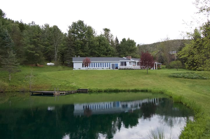The Pool & Pond House