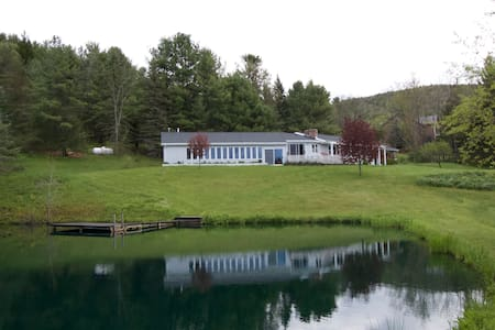 The Pool & Pond House - Middleburgh