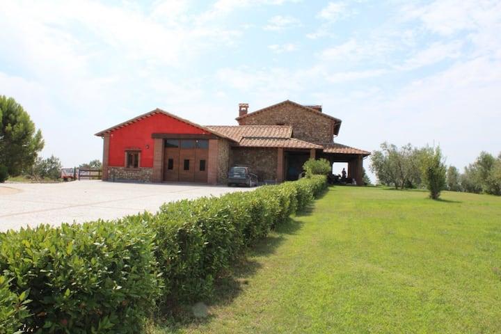 """Monolocale in villa """"La primula Rossa"""" in Maremma"""