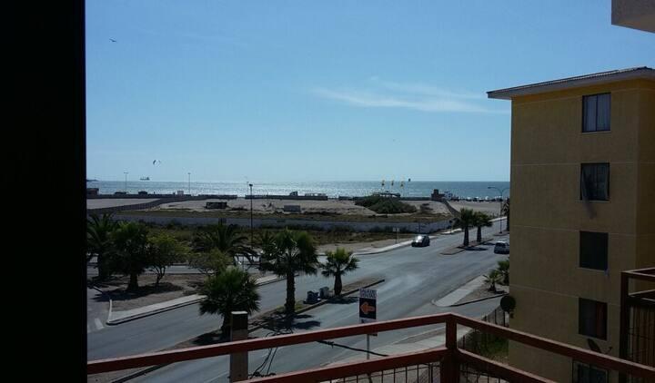 Departamento con vista a la Playa