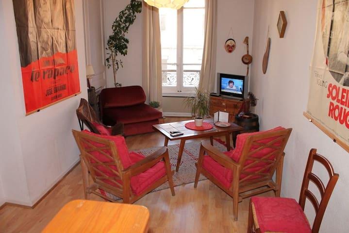 appart meubl 2 pi ces lyon 6 me apartments for rent in lyon rh ne alpes france. Black Bedroom Furniture Sets. Home Design Ideas