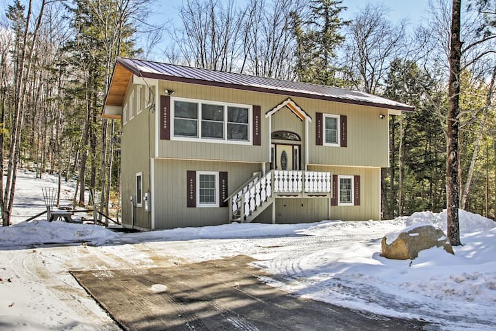 Brand New 3BR White Mountain Chalet - Intervale - Huis