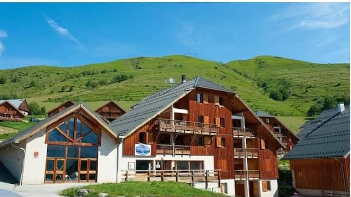 Appartement spacieux dans les Alpes