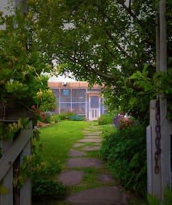 Artist Residence and Organic Farm - La Villita - Haus