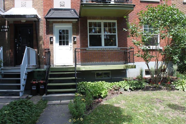 appartement pour 6 a 8 personnes - Montréal - Appartement