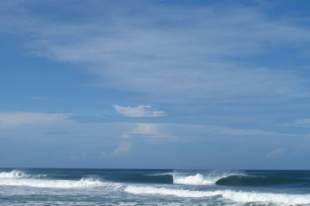 Marbella surf spot
