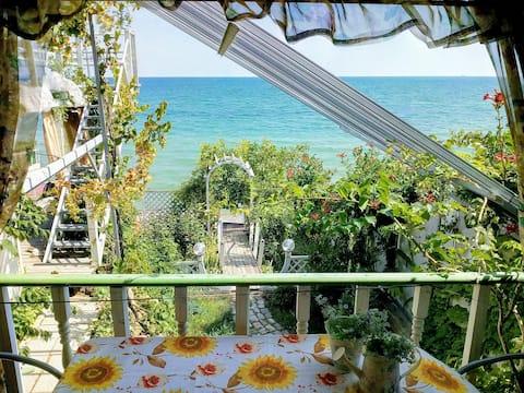 Cozy beach house in a quiet location near Odessa.