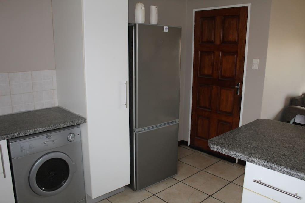 Fridge and laundry drayer