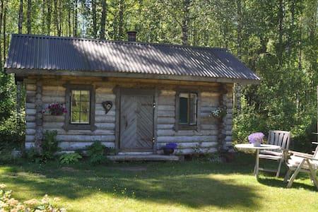 Cosy log cabin stuga 2